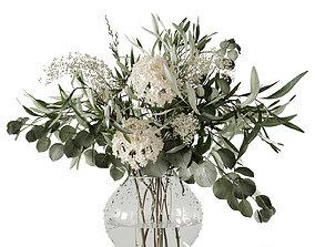 3D model Boquet of spring flowers