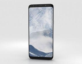 Samsung Galaxy S8 Arctic Silver 3D
