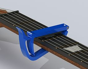 3D printable model Guitar plastic capo