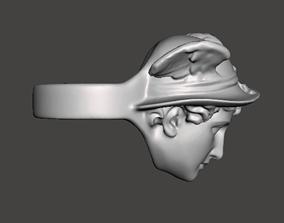 mercury high detailed ring 3D print model