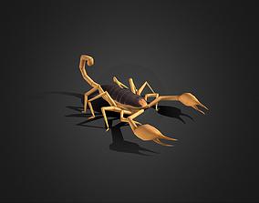 Low Poly Scorpion 3D model