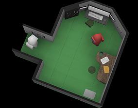 3D print model Among Us Security Room Diorama