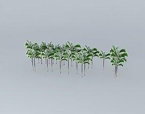 Hotel Sofitel palm trees 3D model