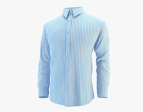 3D model Shirt Blue