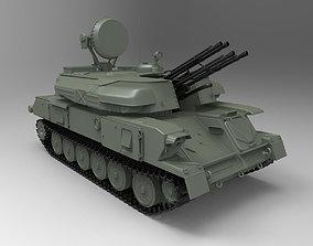 3D model ZSU-23-4 Shilka