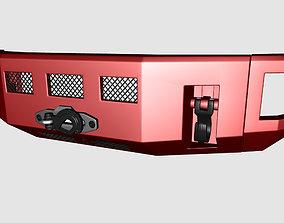Bumper Alpha Series Front Kelderman For Ford 3D asset