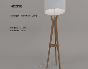 i4DZINE Trafalgar Tripod Floor Lamp 3D model