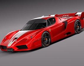 Ferrari FXX 2008 3D