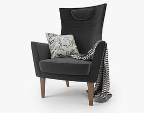 Fabulous Zanotta Lama Lounge Chair 3D Model Cgtrader Beatyapartments Chair Design Images Beatyapartmentscom