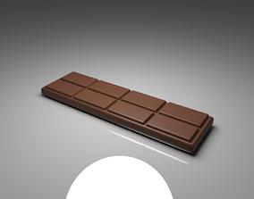Milk Chocolate Bar 3 3D model