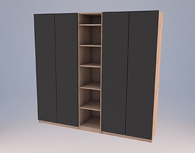 Ikea PAX Wardrobe 3D model