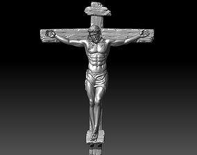 3D printable model jesus christ crucifixion