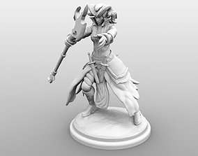 Tiefling Caster - Female 3D printable model