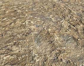 Rough soil and muddy ground PBR 3D