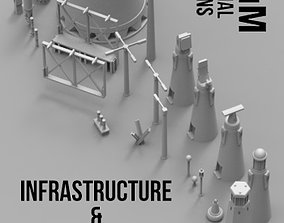 Infrastructure and Objectives Pack 3D print model
