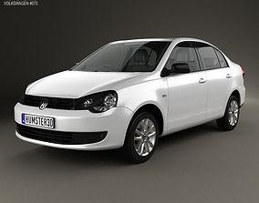 Volkswagen Polo Vivo sedan 2010 3D