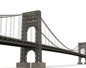 George Washington Bridge 3D asset