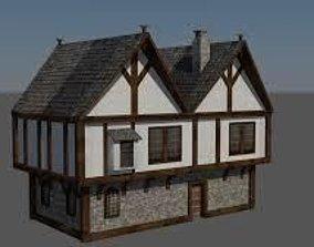 mid evil house 3D model