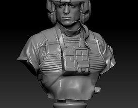 XWing Pilot 3D printable model