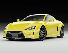 Concept Coupe 3D model