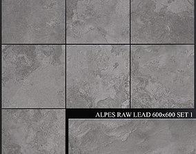 ABK Alpes Raw Lead 600x600 Set 1 3D model