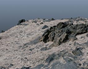 3D asset realtime Rocky Terrain