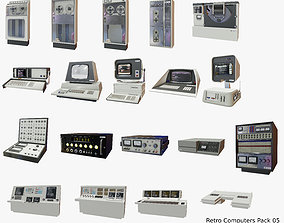 3D model Retro Computers Pack 05
