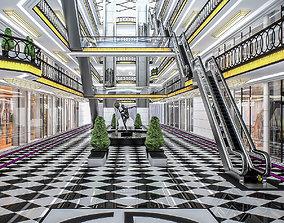 Shopping Mall interior 3D asset