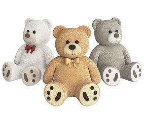 Teddy Bear soft 3D