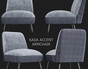 MADE Essentials Kada Accent Armchair 3d model game-ready