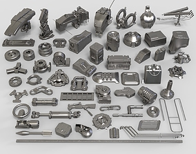 Kit bash - 58 pieces - collection-30 3D