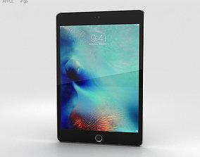 3D Apple iPad Mini 4 Space Gray