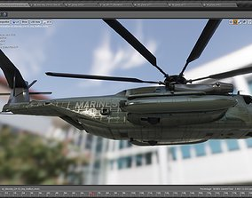 3D model Sikorsky CH 53 Sea Stallion Helicopter