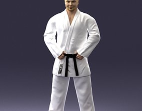 Karate man 1105 3D