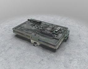 EDDF Building 1 3D model