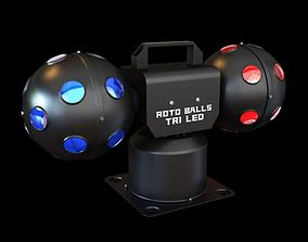 Portable Roto Ball Tri Led 3D model
