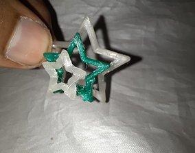 3D printable model Nested Stars Poster Child