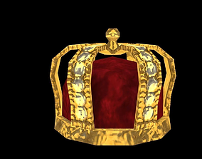 Crown 3D asset