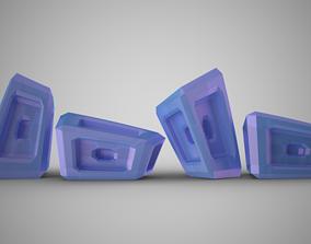 Asymmetrical Ornaments 3D print model