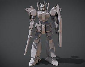 3D printable model RX-78 GP01 Gundam-Full Burnen