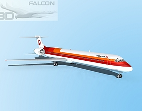 Falcon3D MD-80 Frontier rigged