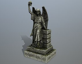 statue 2 3D asset game-ready