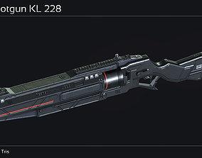 3D model Scifi Shotgun KL 228