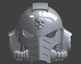 3D printable model Warhammer 40000 Ultramarines Helmet