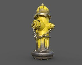 Fire Hydrant 3D asset realtime