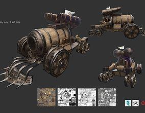 3D model Steampunk Char