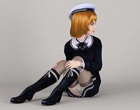 3D Lolita various outfit pose 03