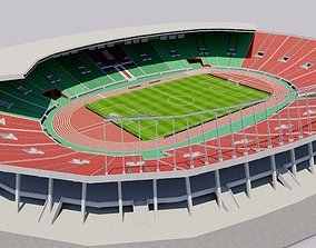 Prince Moulay Abdellah Stadium - Morocco 3D model