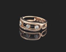 3D printable model rings messika move -CG84