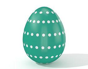 3D model Easter egg N004